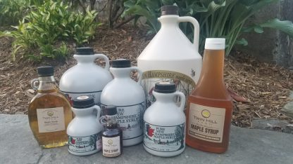 Assortment of Bottled Syrup in Different Sizes