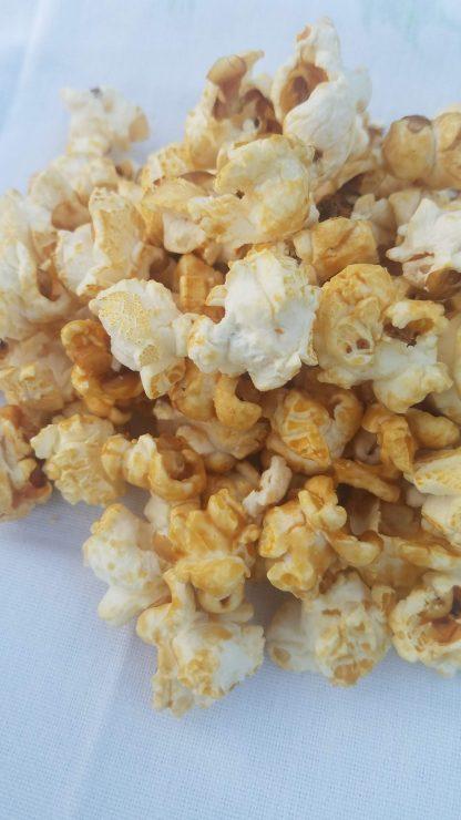 Maple Popcorn Close Up