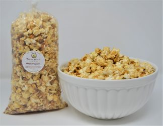Maple Popcorn Bag and Bowl